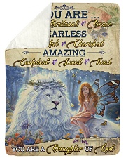 JES10098 - You Are A Daughter Of God Sherpa Fleece Blanket tile