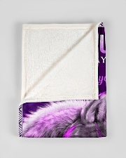 """FBC10005 - Wolf To My Daughter Everyday Small Fleece Blanket - 30"""" x 40"""" aos-coral-fleece-blanket-30x40-lifestyle-front-17"""