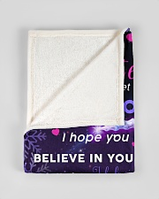 """BL10017 - Beloved Daughter Unicorn 3 Small Fleece Blanket - 30"""" x 40"""" aos-coral-fleece-blanket-30x40-lifestyle-front-17"""
