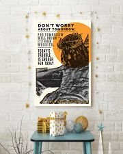 JES10014PT - Jesus Christ Don't Worry Tomorrow 11x17 Poster lifestyle-holiday-poster-3