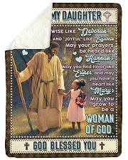 JES10062BL -  A Prayer For Daughter Sherpa Fleece Blanket tile