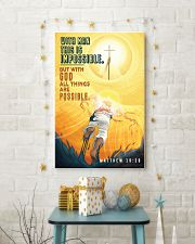 JES10030PT - Jesus Christ All Things Possible 11x17 Poster lifestyle-holiday-poster-3