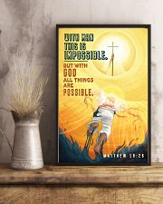 JES10030PT - Jesus Christ All Things Possible 11x17 Poster lifestyle-poster-3