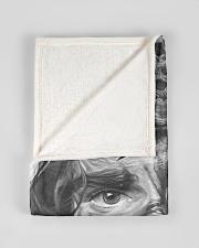 "JES10102 - Jesus Way Maker Miracle Worker Small Fleece Blanket - 30"" x 40"" aos-coral-fleece-blanket-30x40-lifestyle-front-17"