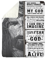 JES10102 - Jesus Way Maker Miracle Worker Sherpa Fleece Blanket tile