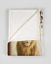 """FBC10042 - Lion To My Dear Son-In-Law Small Fleece Blanket - 30"""" x 40"""" aos-coral-fleece-blanket-30x40-lifestyle-front-17"""
