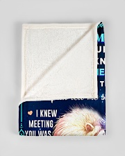 """BL10080 - To My Wife Once Upon A Time Small Fleece Blanket - 30"""" x 40"""" aos-coral-fleece-blanket-30x40-lifestyle-front-17"""