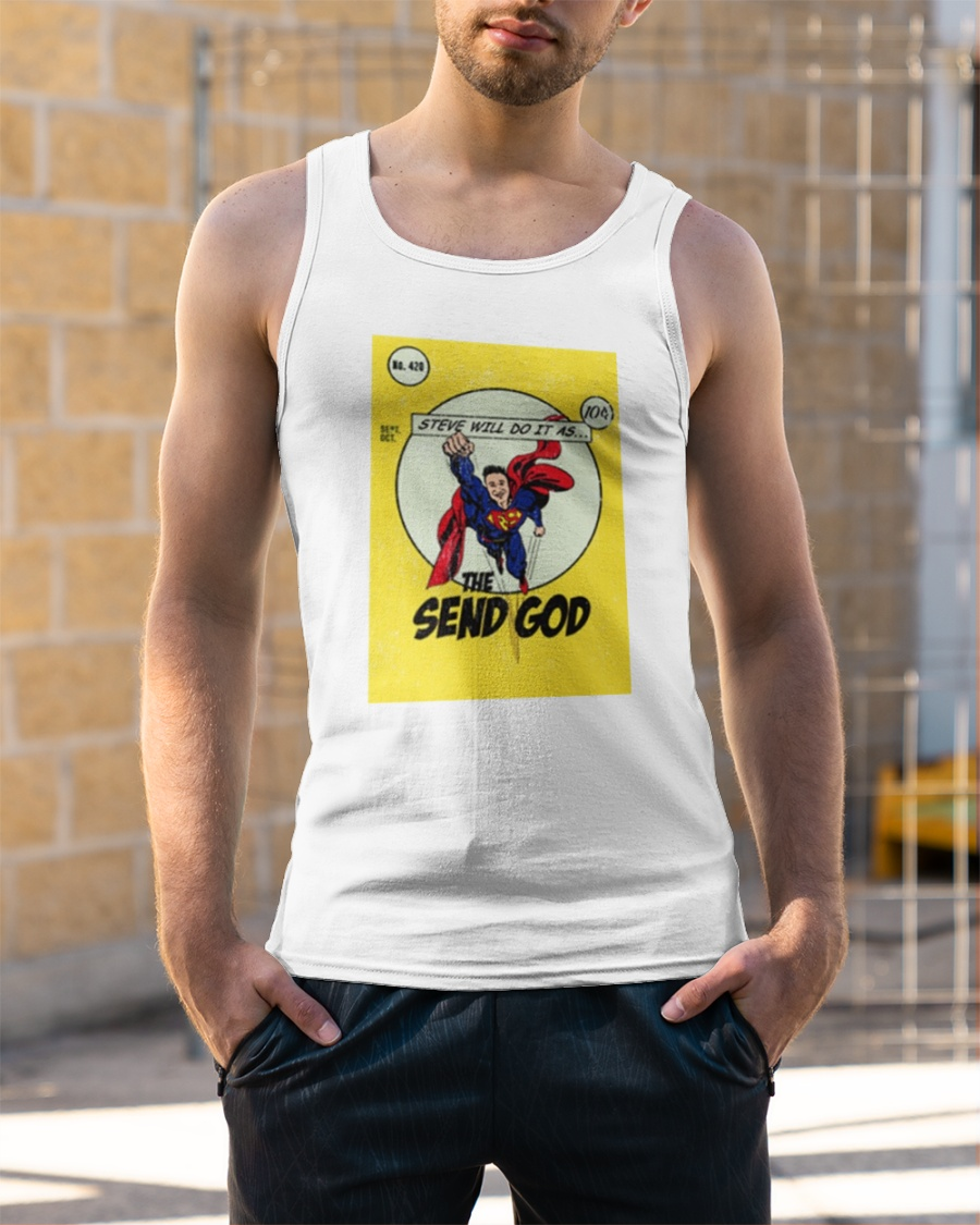 Steve Will Do It Merch Tank Top We do this with marketing and advertising partners (who may have their own information they've collected). steve will do it merch tank top unisex tank top size white