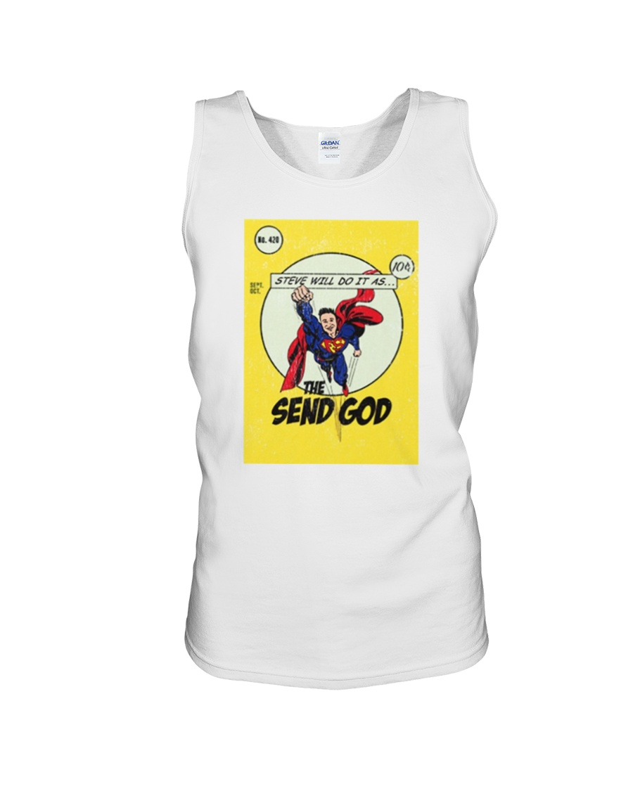 Steve Will Do It Merch Tank Top Official facebook page of stevewilldoit. steve will do it merch tank top unisex tank top size white