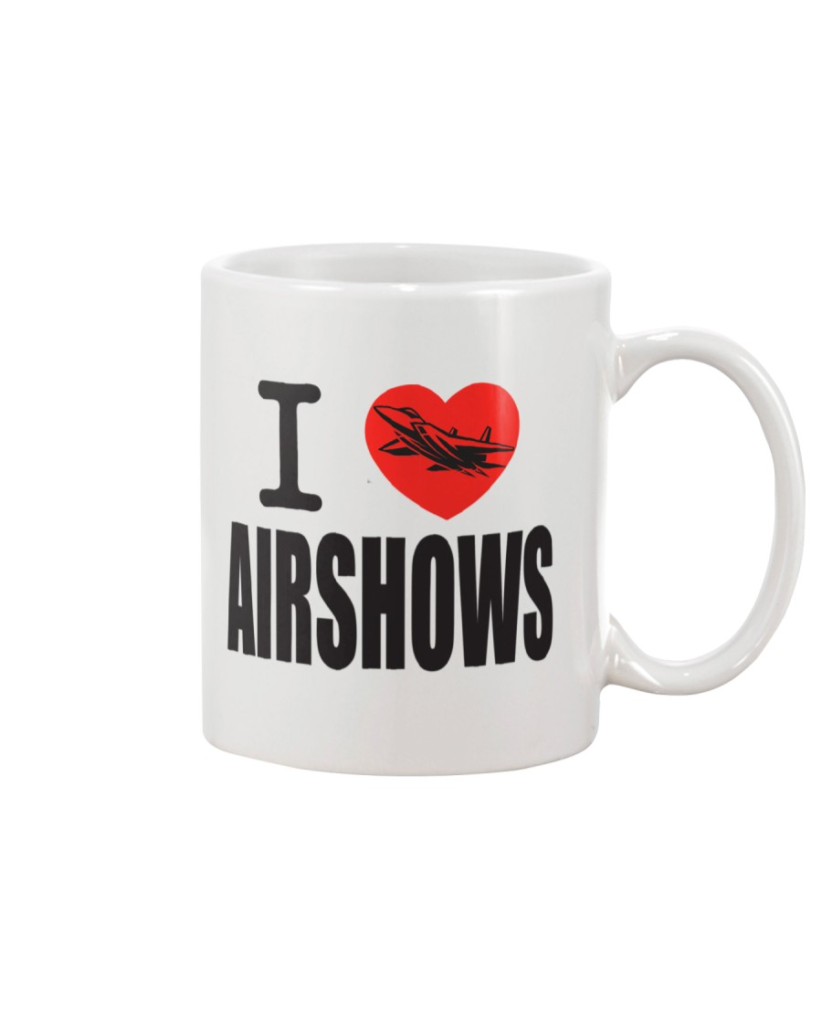 Tassé de café I LOVE AIRSHOW - Québec Airshow Mug