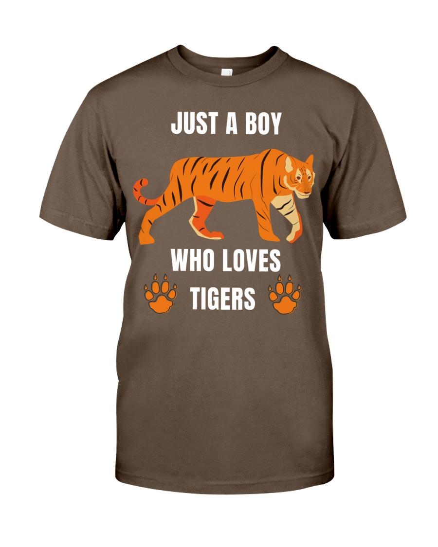 tiger boy Classic T-Shirt