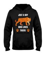tiger boy Hooded Sweatshirt thumbnail