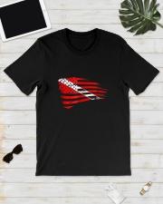 Scuba Diving Dive Flag Patriotic T-Shirt Classic T-Shirt lifestyle-mens-crewneck-front-17
