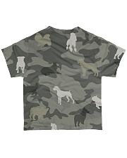 Dog Camou All-over T-Shirt back