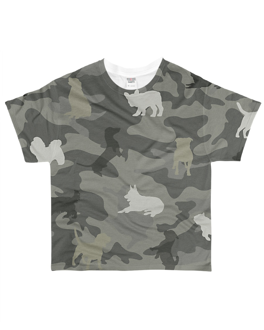 Dog Camou All-over T-Shirt
