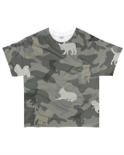 Dog Camou All-over T-Shirt front