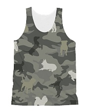 Dog Camou All-over Unisex Tank thumbnail