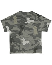 Dachshund Limited Edition All-over T-Shirt back