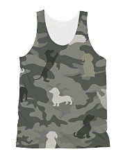 Dachshund Limited Edition All-over Unisex Tank thumbnail