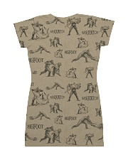 HQ Printed Sasquatch All-over Dress back