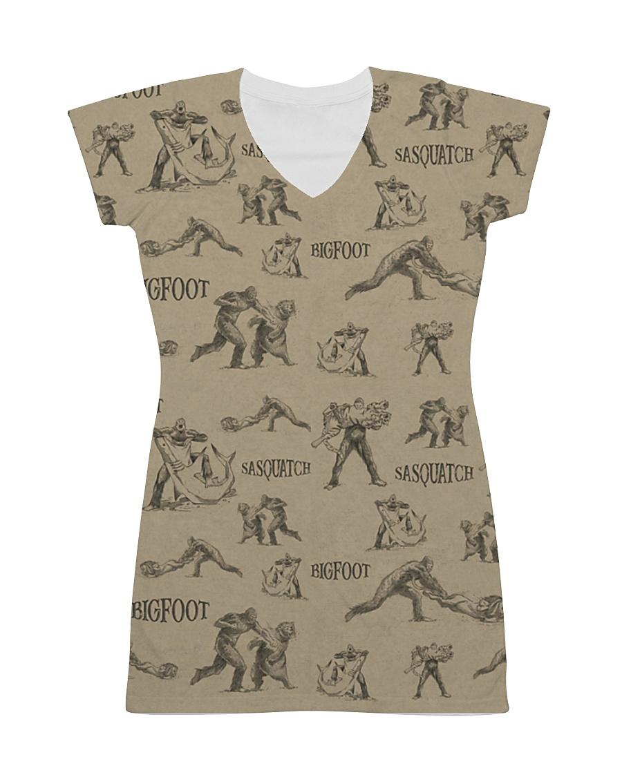 HQ Printed Sasquatch All-over Dress