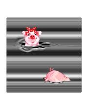 TT94 Pink Pig Square Coaster thumbnail