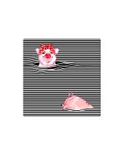 TT94 Pink Pig Square Magnet thumbnail