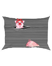 TT94 Pink Pig Rectangular Pillowcase thumbnail