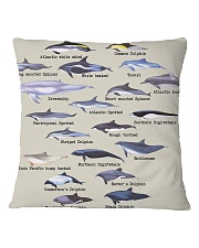 HD Defend Dolphin Full Square Pillowcase tile