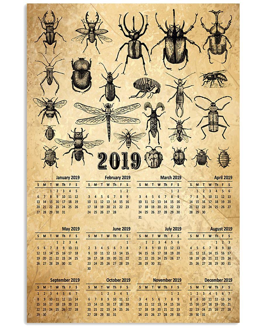 HD Entomology Calendar 11x17 Poster showcase