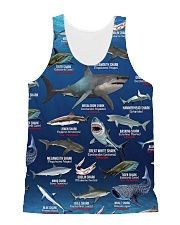 HD Your Shark Full All-over Unisex Tank front