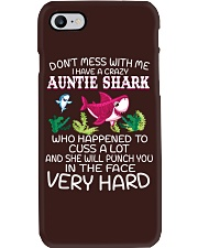 NN Auntie Shark Phone Case thumbnail