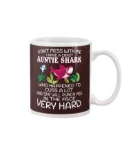 NN Auntie Shark Mug thumbnail
