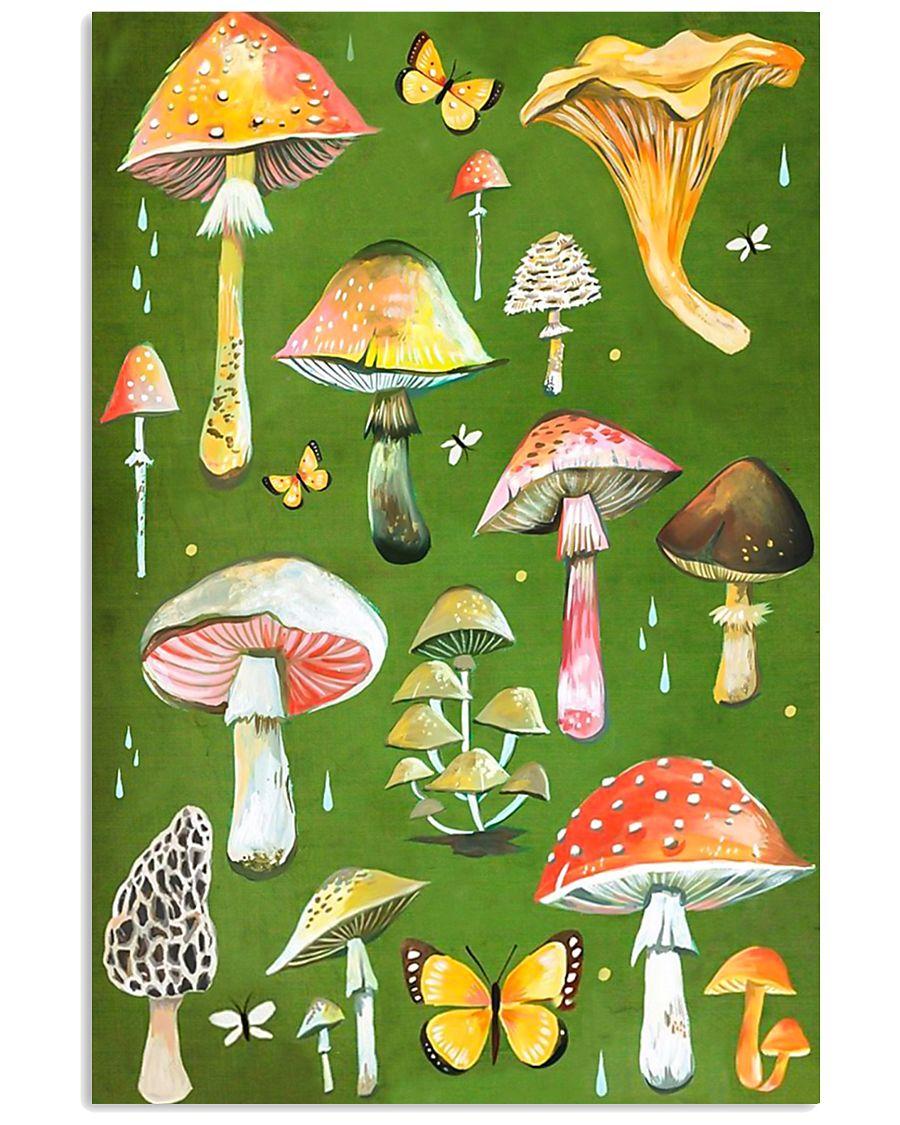 HD Beautiful Mushroom 11x17 Poster