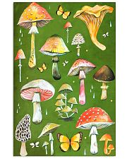 HD Beautiful Mushroom 11x17 Poster front