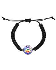 Yoga A97 Meditation Cord Circle Bracelet front