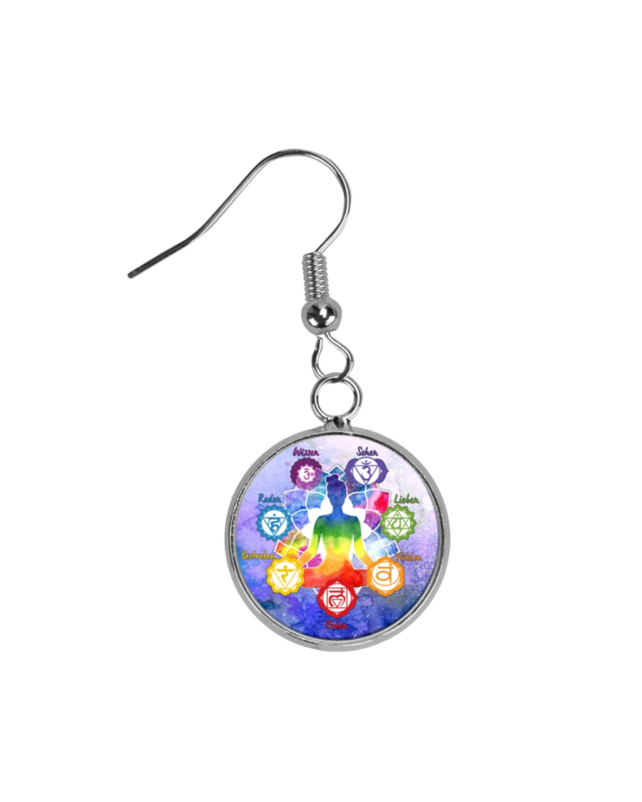 Yoga A97 Meditation Circle Earrings