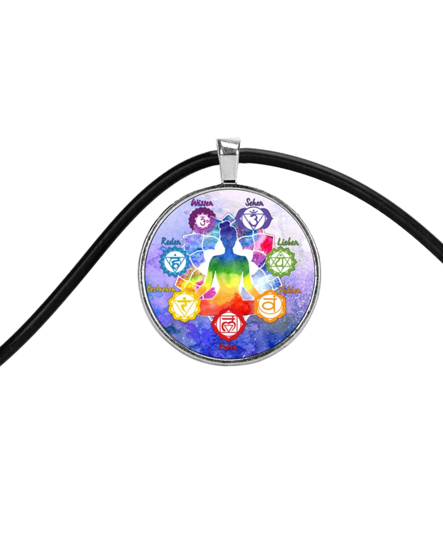 Yoga A97 Meditation Cord Circle Necklace