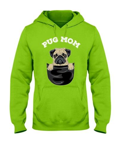 HD Pug Mom
