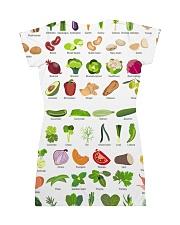 HD Vegetable Dress All-over Dress back