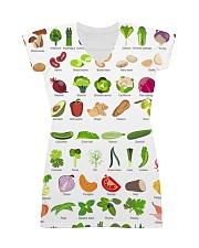 HD Vegetable Dress All-over Dress front