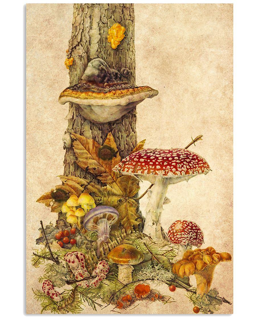 HD Mushroom World 11x17 Poster