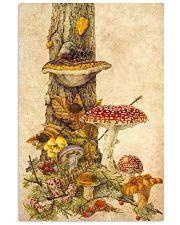 HD Mushroom World 11x17 Poster front
