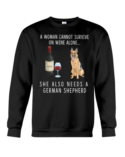 Wine 3689 German Shepherd