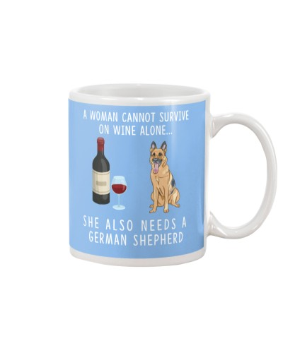 Wine 3689 German Shepherd