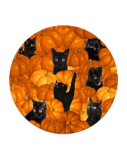 HQ Haloween Cat Circle Coaster thumbnail