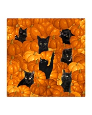 HQ Haloween Cat Square Coaster thumbnail