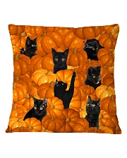 HQ Haloween Cat Square Pillowcase thumbnail