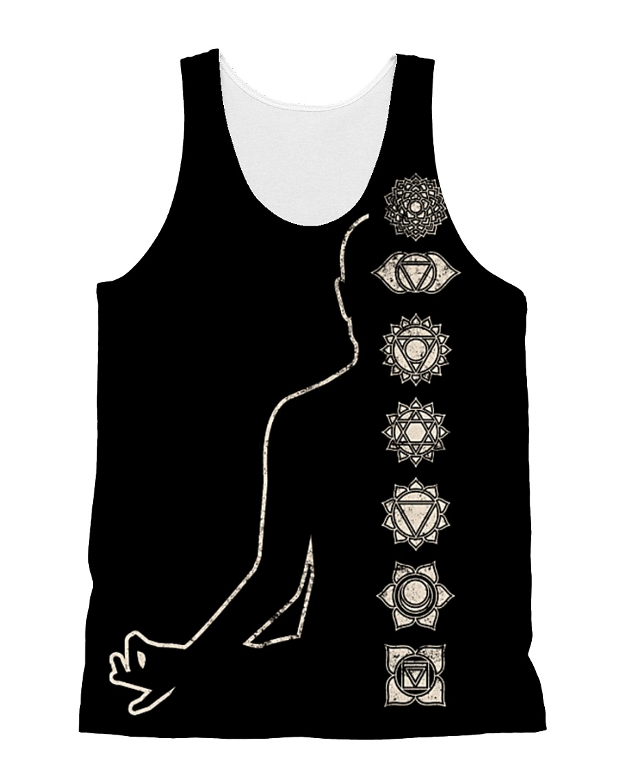 Yoga SNT Tree Of Life All-over Unisex Tank