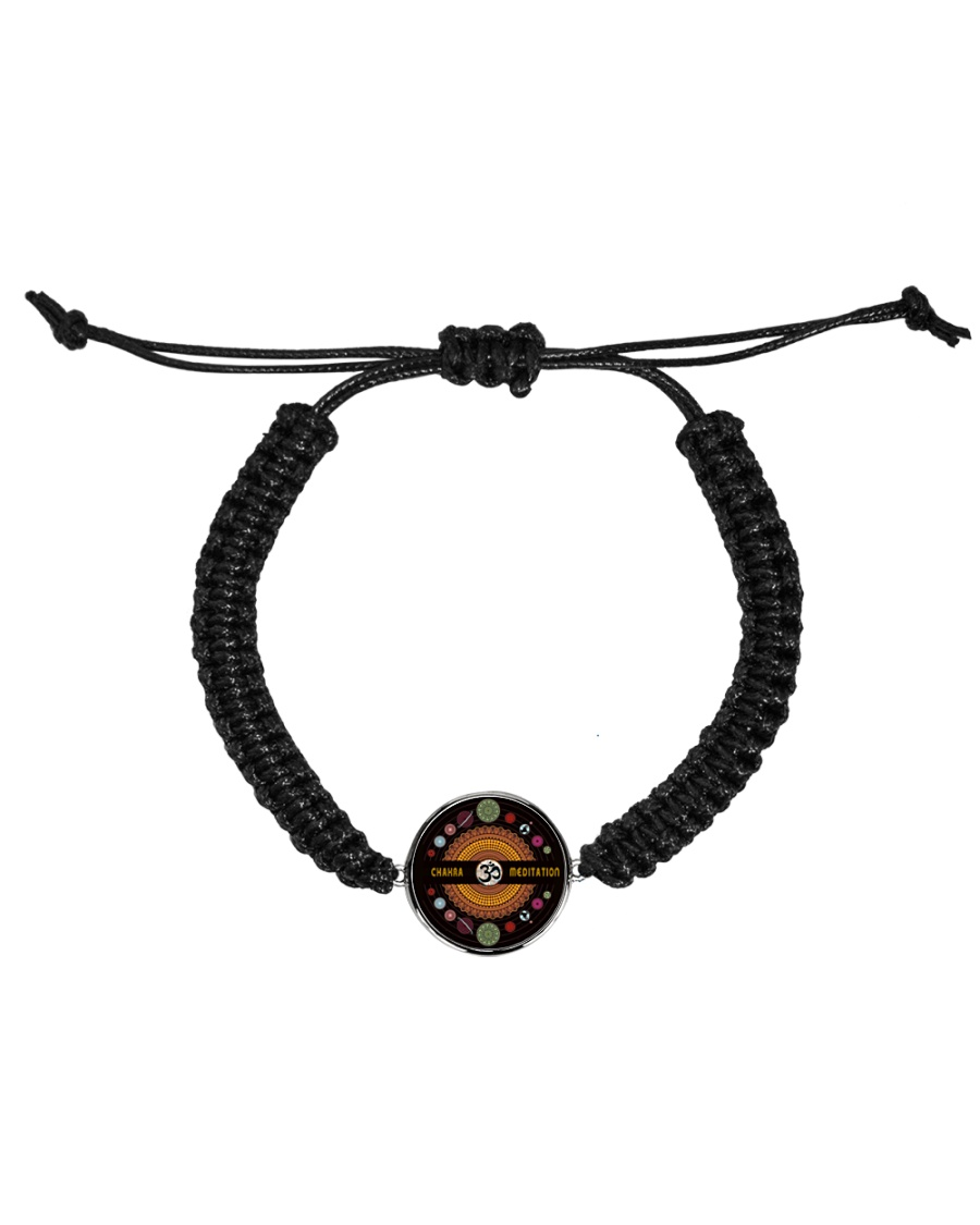 Yoga A97 Planets Cord Circle Bracelet